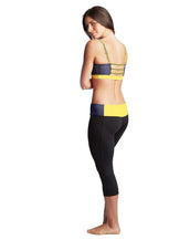 'Wolverines' Michigan Cropped Yoga Pant