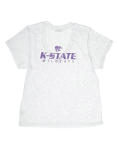 Kansas State University Deep V-Neck Burnout Tee