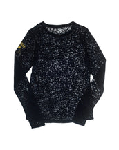 University of Michigan Long Sleeve Burnout Crew
