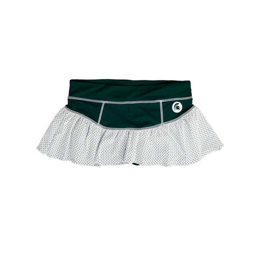 Michigan State University Ruffle Skort