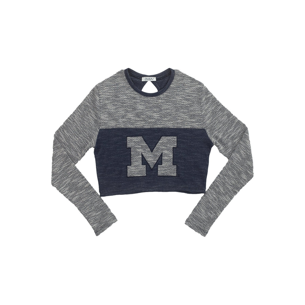 University of Michigan Terry Crop Top