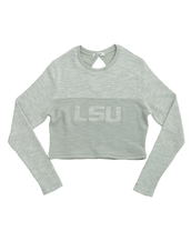 Louisiana State University Terry Crop Top