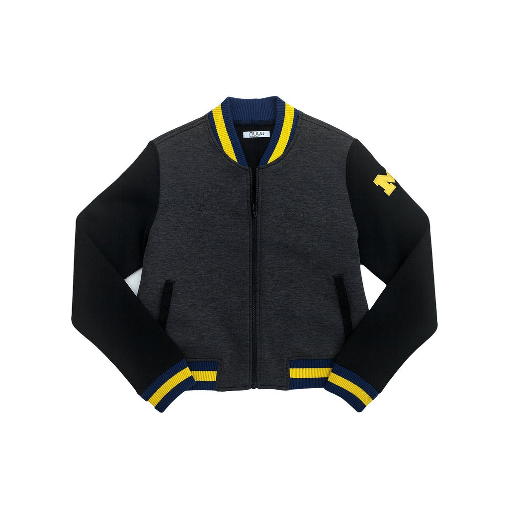 University of Michigan Cropped Varsity Jacket