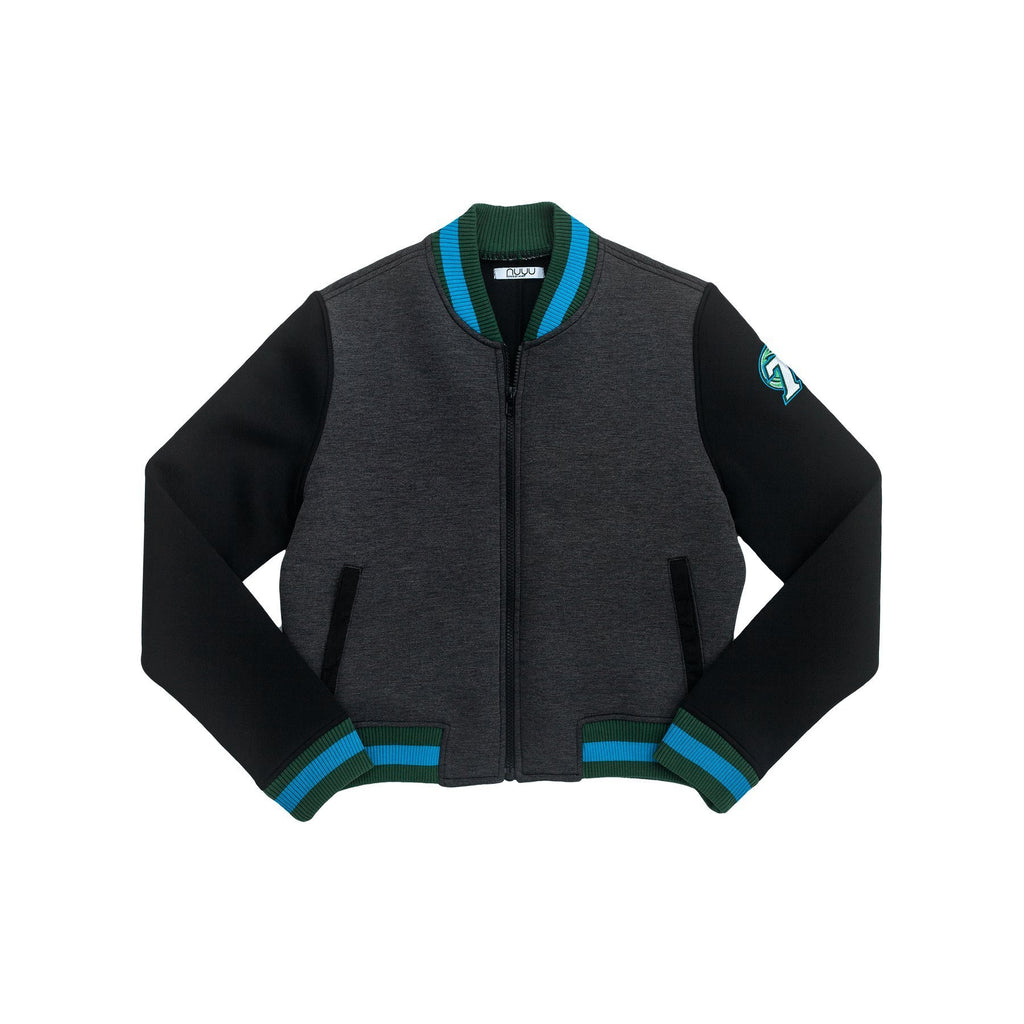 Tulane University Cropped Varsity Jacket