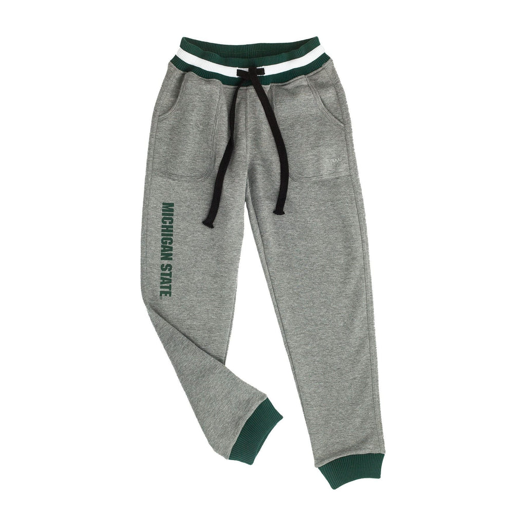 Michigan State University Marl Drop Waist Jogger