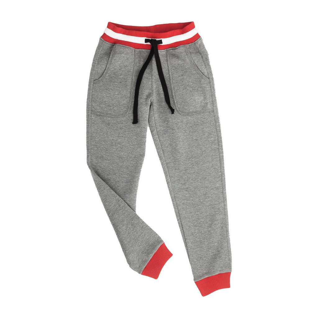Essentials by nuyu Marl Drop Waist Jogger