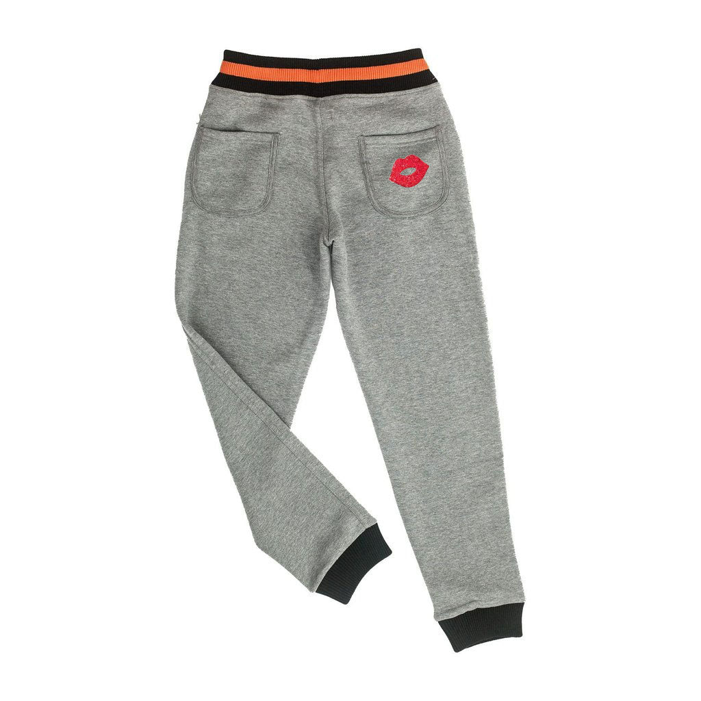 Custom Princeton Jogger with Glam Patches - M