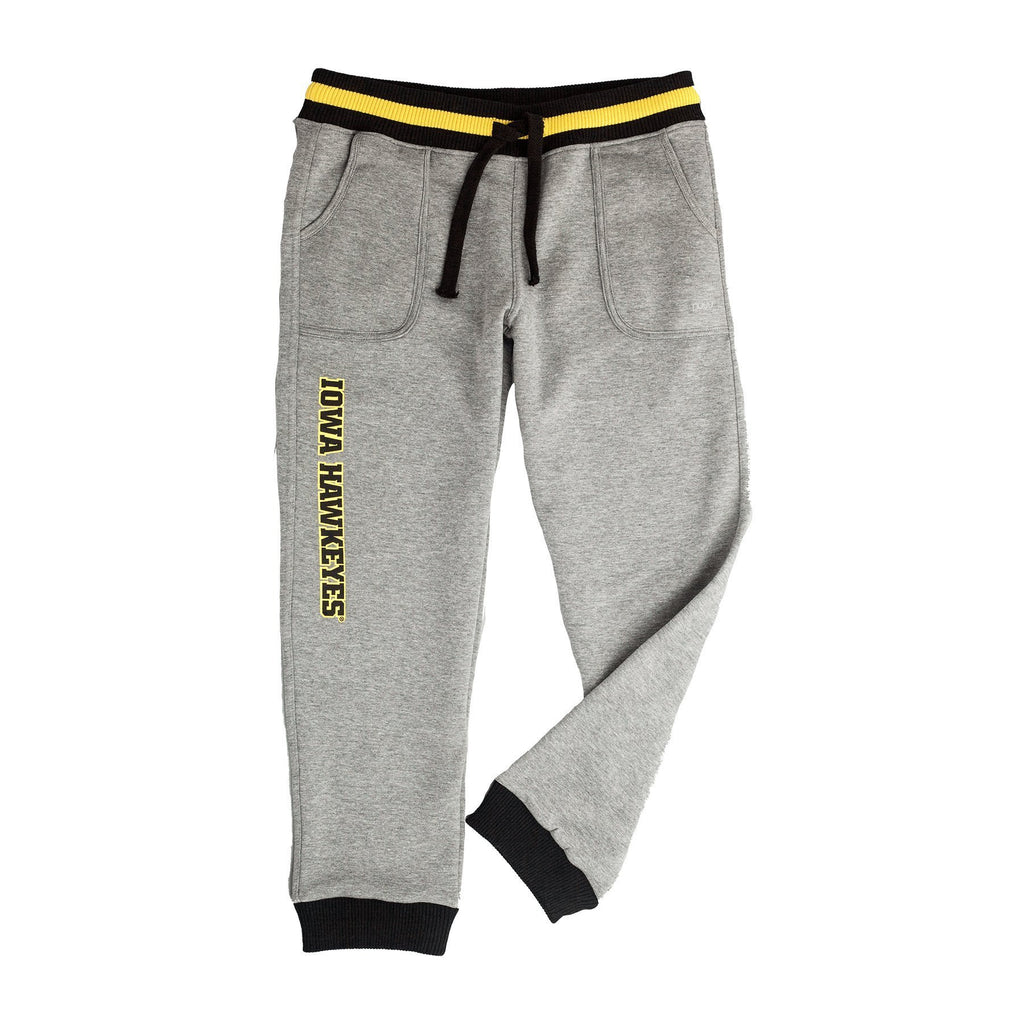 University of Iowa Marl Drop Waist Jogger