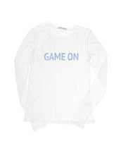 Game On Blue Long Sleeve Crew Neck