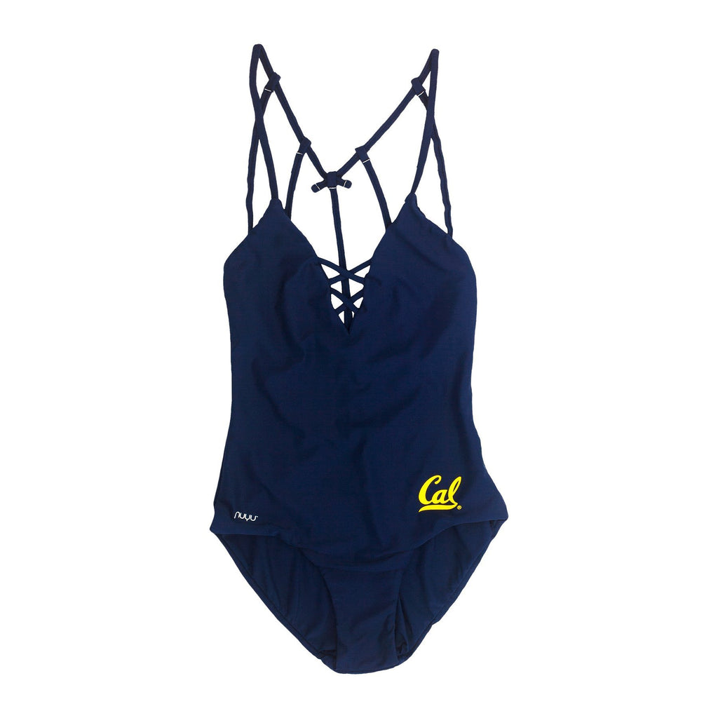 University of California, Berkeley Crisscross One Piece Swimsuit