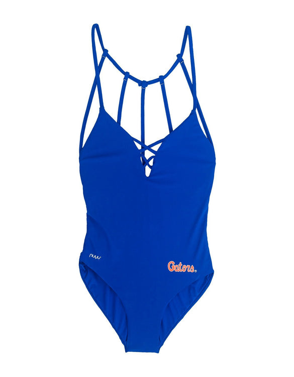 University of Florida Crisscross One Piece Swimsuit
