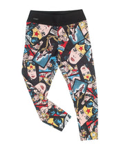 Face of Justice Cropped Yoga Legging