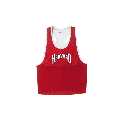 Harvard Mesh Tank with Attached Sporty Bralette