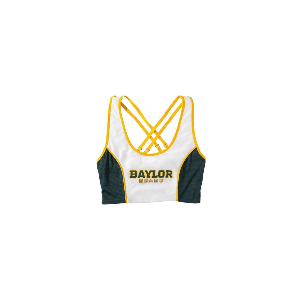 Baylor University Sporty Cropped Tank