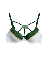 Colorado State University Demi NUKINI Contrast Mesh with Fixed Dog Tag Pendant