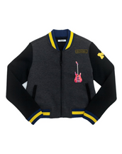 Custom Embroidered Michigan Cropped Varsity Jacket