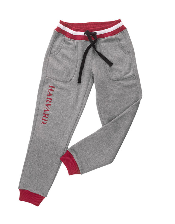 Harvard University Marl Drop Waist Jogger