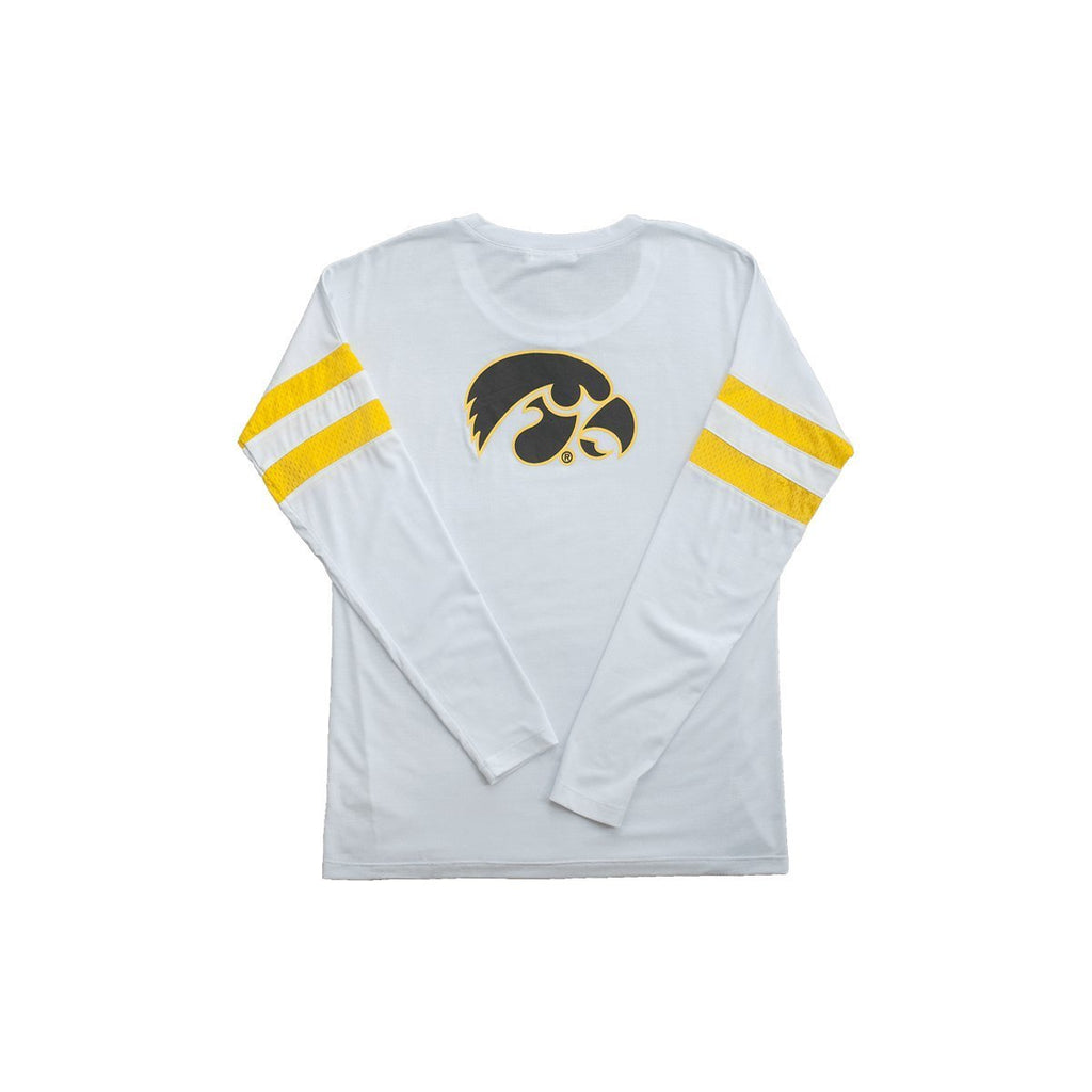 University of Iowa Long Sleeve Relaxed Crew
