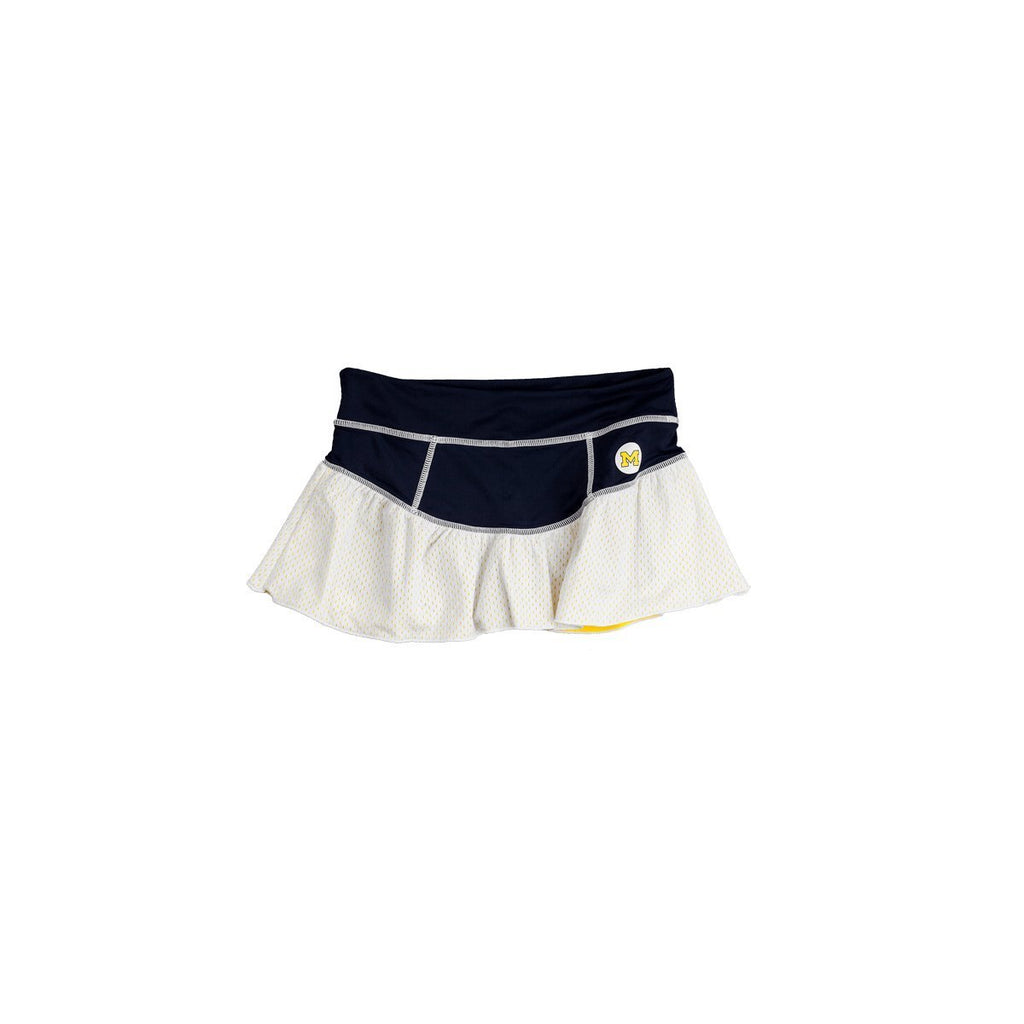 University of Michigan Ruffle Skort