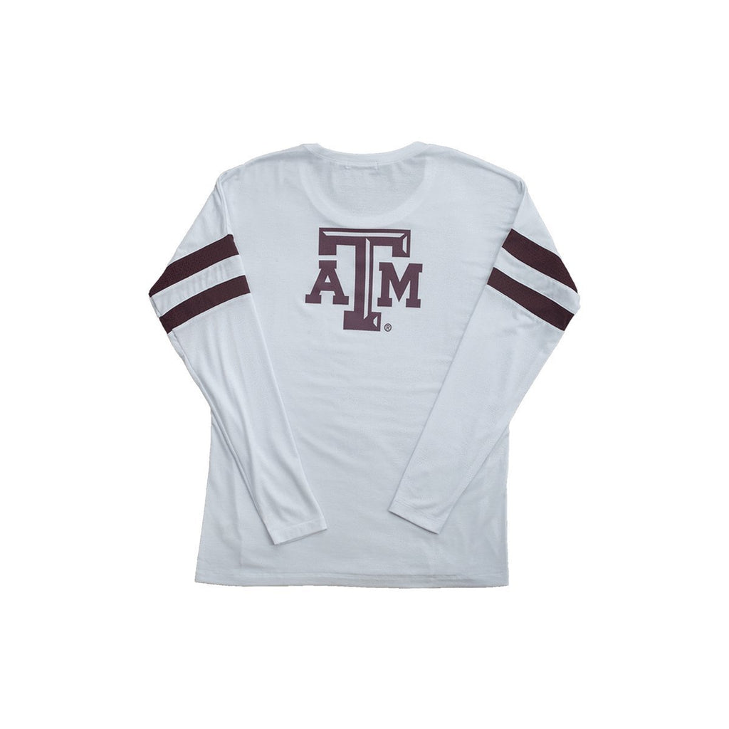 Texas A&M University Long Sleeve Relaxed Crew