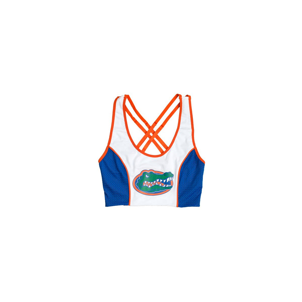 e018e0097 University of Florida Sporty Cropped Tank