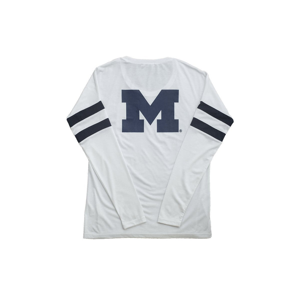University of Michigan Long Sleeve Relaxed Crew