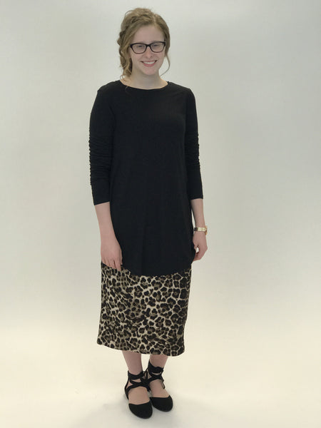 The Leopard London Pencil Skirt