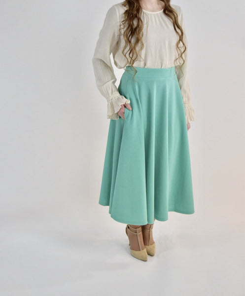 The Mint Dainty Darling Skirt