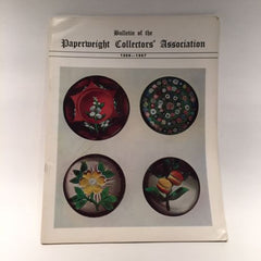 The Paperweight Collectors Association PCA Annual Bulletin 1966 - 67