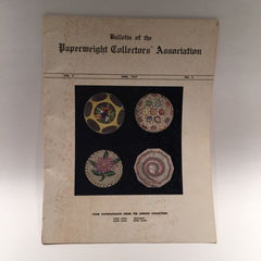 The Paperweight Collectors Association PCA Annual Bulletin 1957