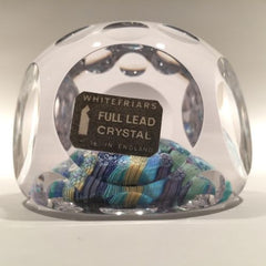 Large Whitefriars complex closepack multifaceted Art Glass Paperweight c. 1974