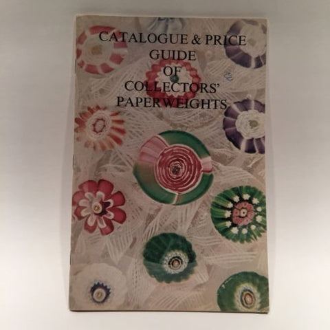 LH Selman Collector's Paperweights Price Guide & Catalogue 1975 Reference Book