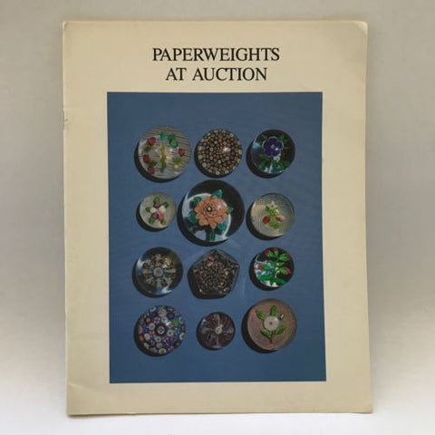 J & R Auctions May 18, 1989 PCA Catalogue Fine Glass Paperweights At Auction