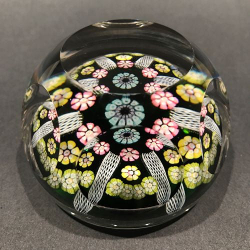 Vintage Whitefriars Art Glass Millefiori Paperweight Limited Smithsonian Edition