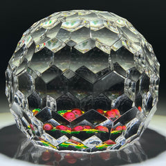 "Saint-Louis Crystal 1992 All Over Faceted Flamework Cherries LE ""Fascination"""