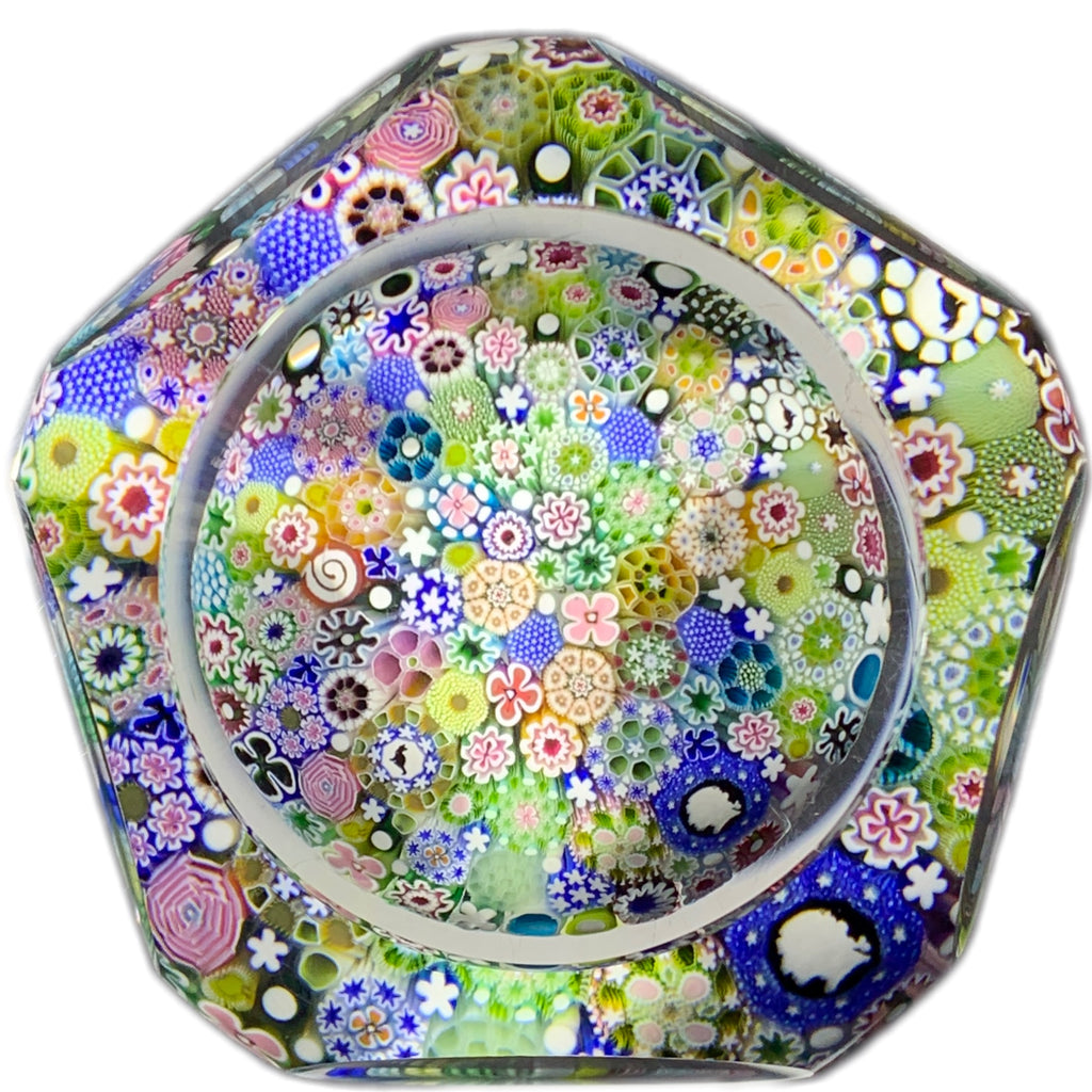 Magnum Damon MacNaught 2019 Faceted Closepack Millefiori with Silhouette Canes