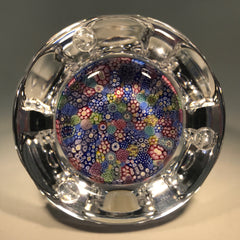 Vintage Whitefriars Art Glass Paperweight Complex Closepack Millefiori