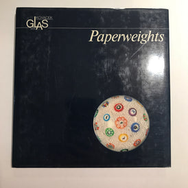 Paperweights Glass Gallery Michael Kovacek Vienna - 1987 Hardcover Reference Book