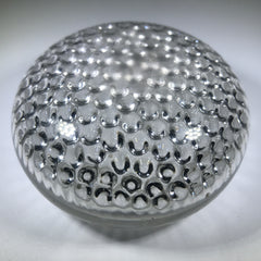 Antique Boston & Sandwich Art Glass Paperweight Rare Honeycomb Air-Trap