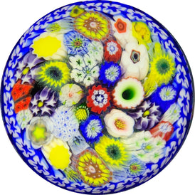 Chris Sherwin 2019 Closepack Complex Millefiori on Blue