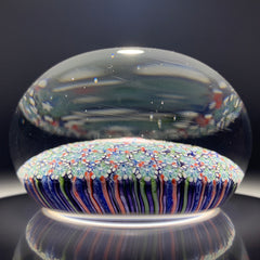 Damon MacNaught 2019 Confetti Millefiori Carpet Ground Paperweight