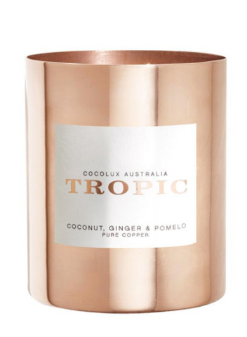 Coconut Ginger Pomelo Candle from Cocolux at Porter and Ferne