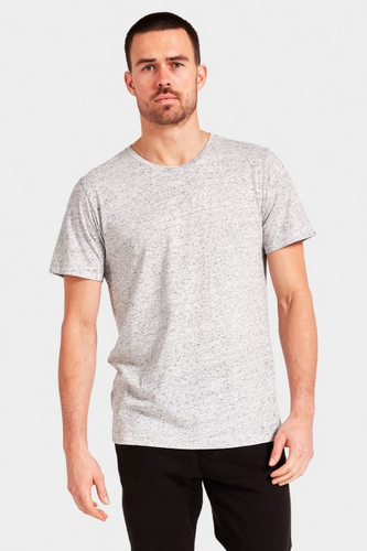 Basic Crew Tee - Snow Marle