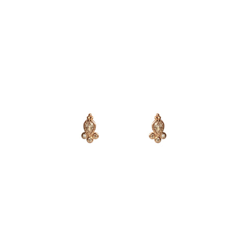 Bindi Studs - Rose Gold