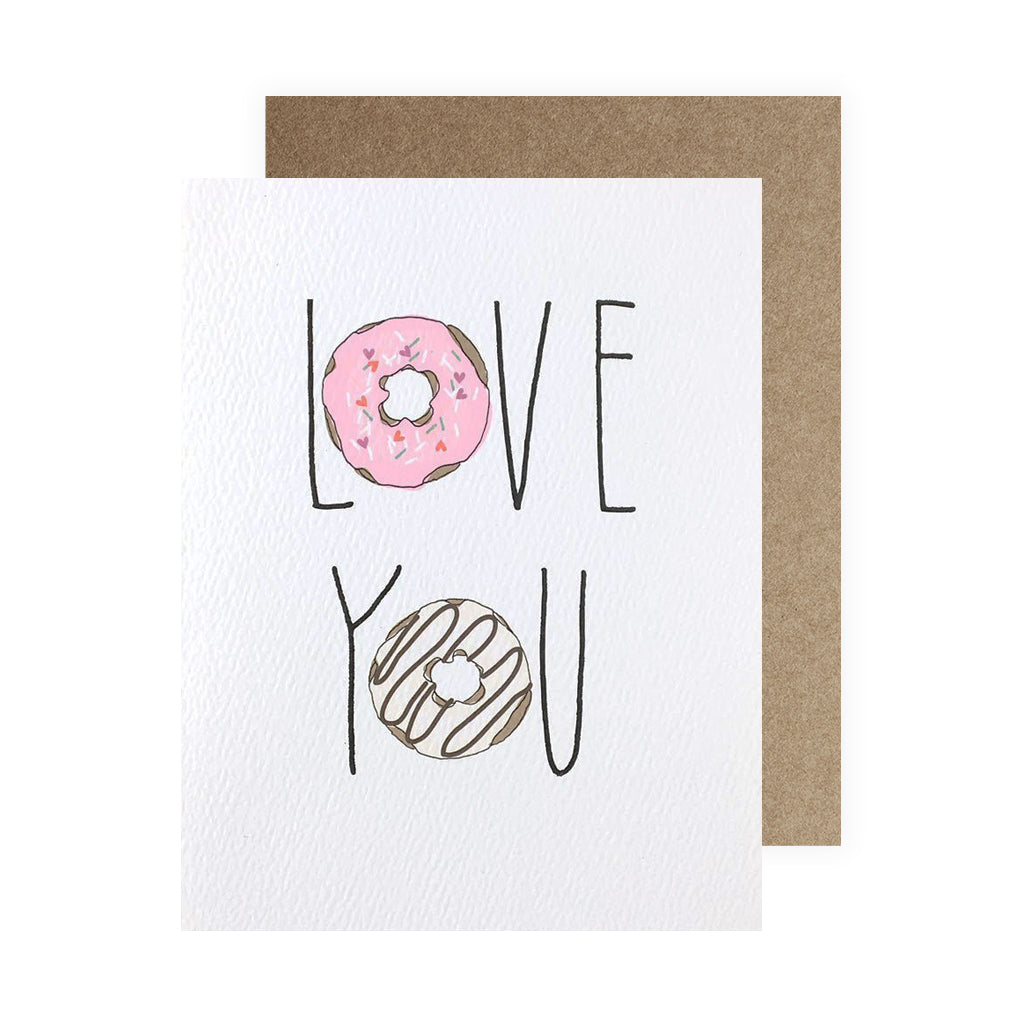 Love You Donuts - Neon