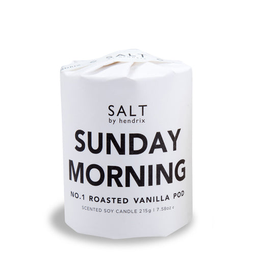 The Sunday Morning No. 1 Roasted Vanilla Pod Soy Candle is a vegan, hand poured candle and is perfect for those laid back days on the deck.