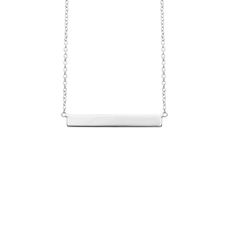 Name Necklace - Silver