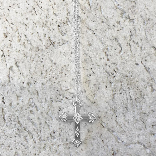 Like A Prayer Relic Necklace - Silver