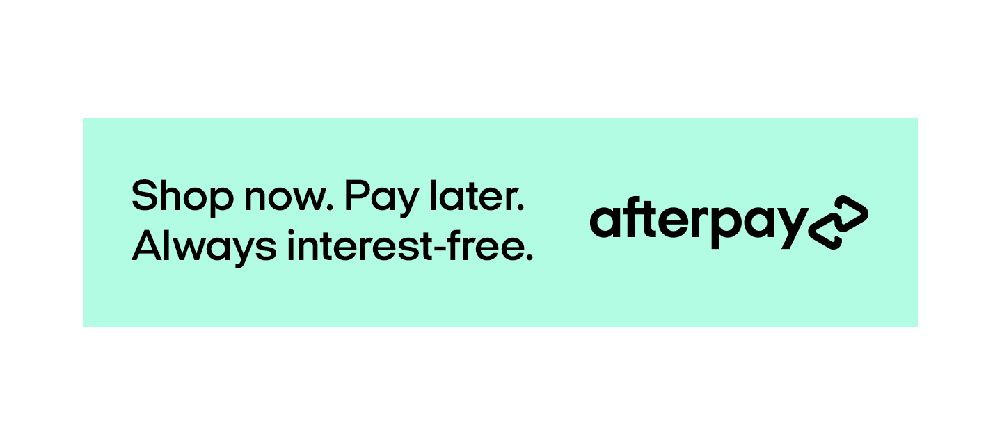 Shop now pay later Afterpay