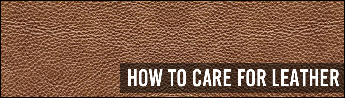 How to care for Leather - Bohemio Furniture